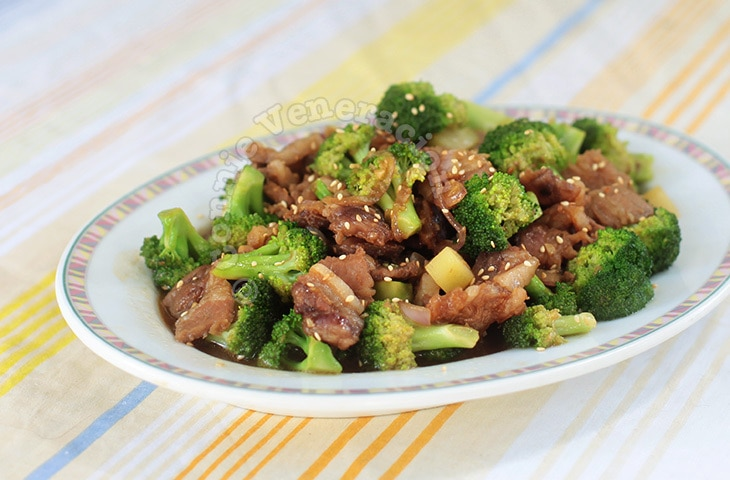Chinese Beef With Broccoli | casaveneracion.com