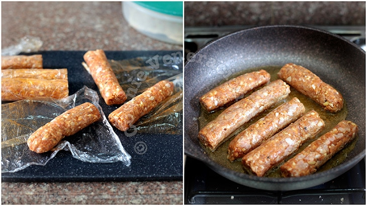 Homemade Skinless Sausages (Longganisa)