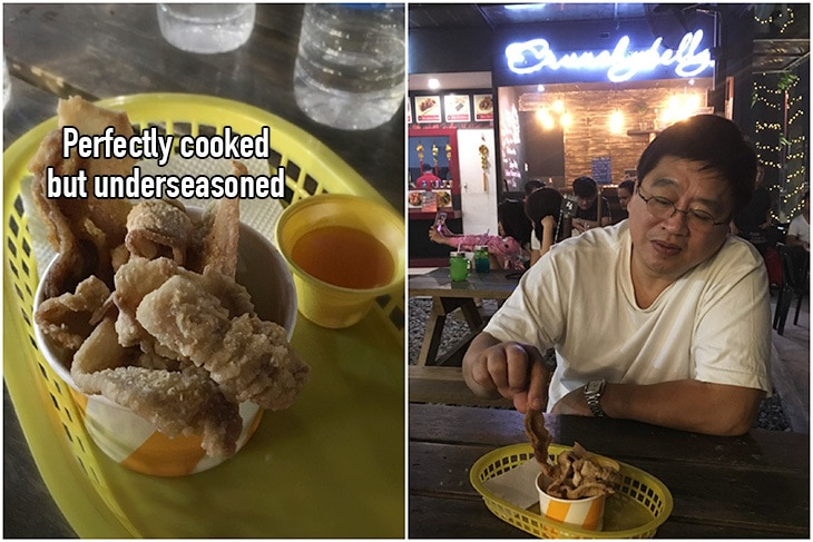 Foodtrip Marikina: Perfectly cooked but terribly underseasoned pork belly