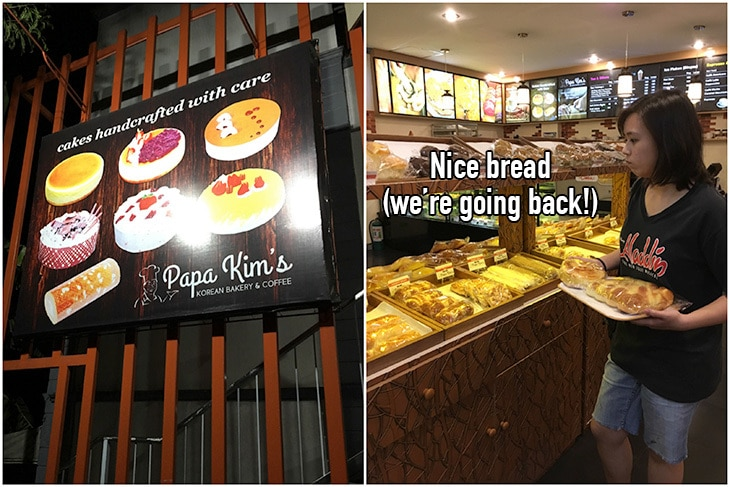 Papa Kim's (Sumulong Highway, Antipolo) sells nice bread