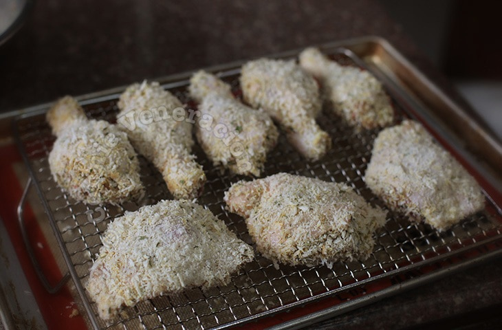 Herb and Parmesan Crusted Chicken