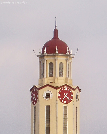 tower clock of the Manila City Hall