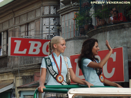 Miss Earth 2006 motorcade