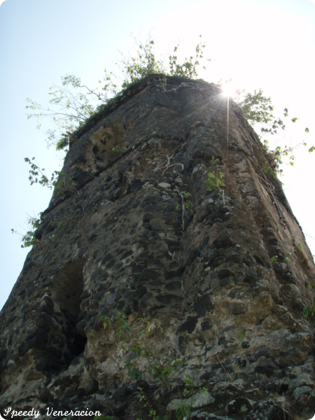 ruins of Cagsaua Church, Albay