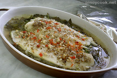 casaveneracion.com baked fish and spinach