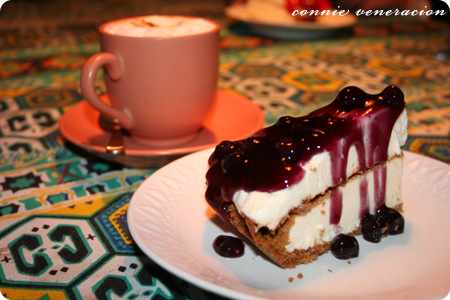 casaveneracion.com blueberry cheesecake