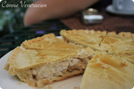 casaveneracion.com a whole chicken and mushrooms pie, Bag of Beans, Tagaytay City
