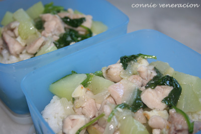 casaveneracion.com chicken, chayote and spinach