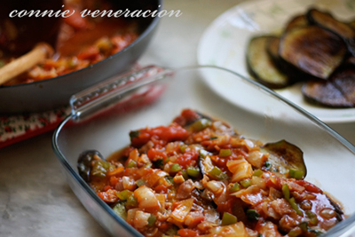 casaveneracion.com Cover with the bacon-tomato mixture