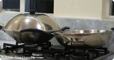 stainless steel Chinese woks