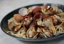 casaveneracion.com Pasta with clams in red wine sauce