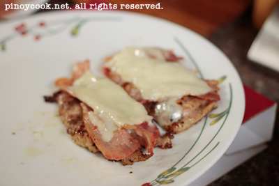 casaveneracion.com How to make chicken, bacon and cheese sandwich