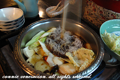 casaveneracion.com Sukiyaki, best eaten with raw egg in a separate bowl