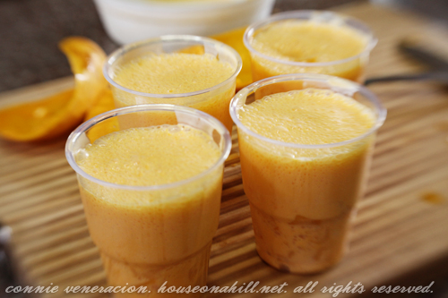 casaveneracion.com Chilled mango pudding