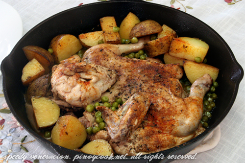 casaveneracion.com Old ranch style chicken and potatoes
