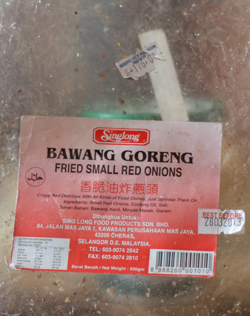 casaveneracion.com Bawang Goreng (small fried red onions)