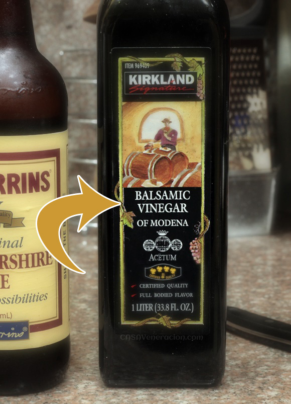 casaveneracion.com Balsamic vinegar: cooked, reduced and aged grape juice