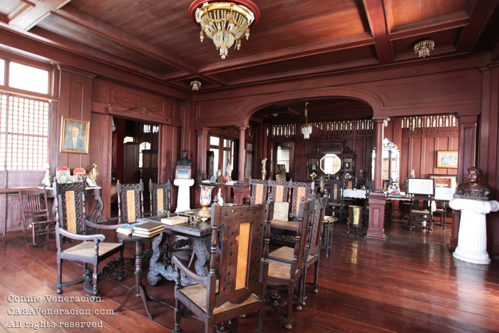 The house of Gregorio Agoncillo in Taal, Batangas
