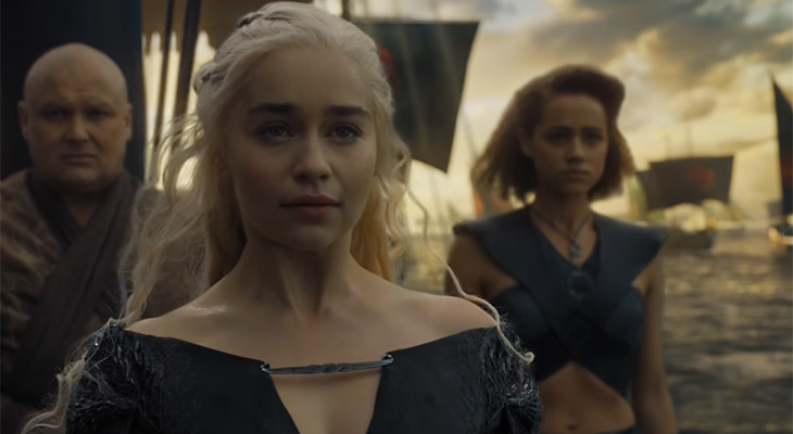 Game of Thrones: Daenerys sails to Westeros