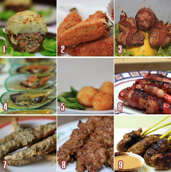 casaveneracion.com Finger foods to go with your holiday cocktails