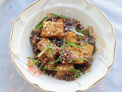 Tofu in Oyster Sauce