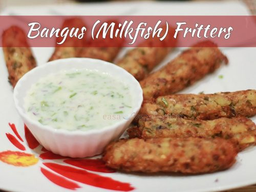 Bangus Fritters
