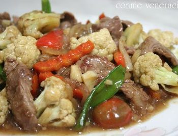 Ostrich and Vegetables Stir Fry