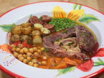 Soanish Cocido-inspired Beef Stew