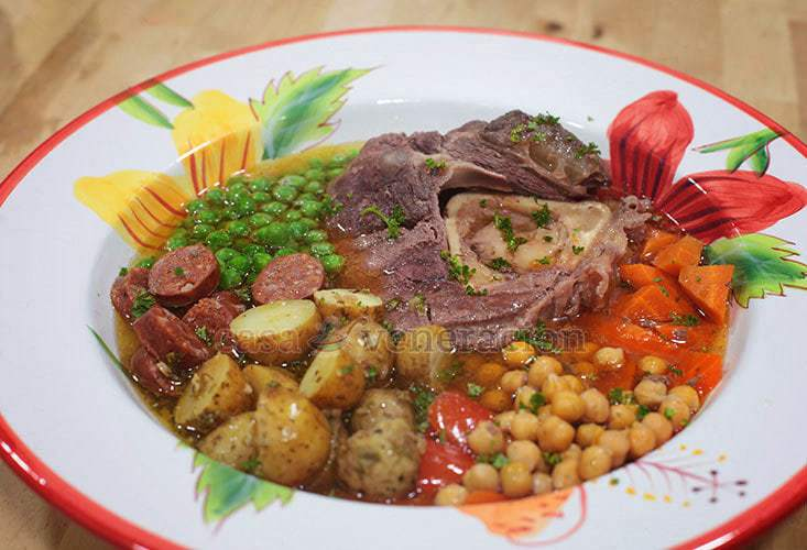 Soanish Cocido-inspired Beef Stew from CASA Veneracion