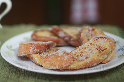 French Toast Dusted With Cinnamon Sugar