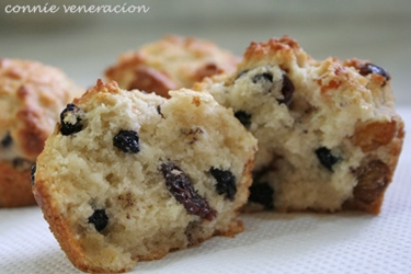 Mixed berries muffins