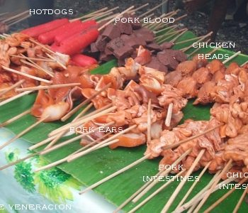 Barbecue, an exotic street food