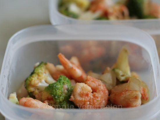 Sweet Spicy Shrimp Broccoli Stir Fry