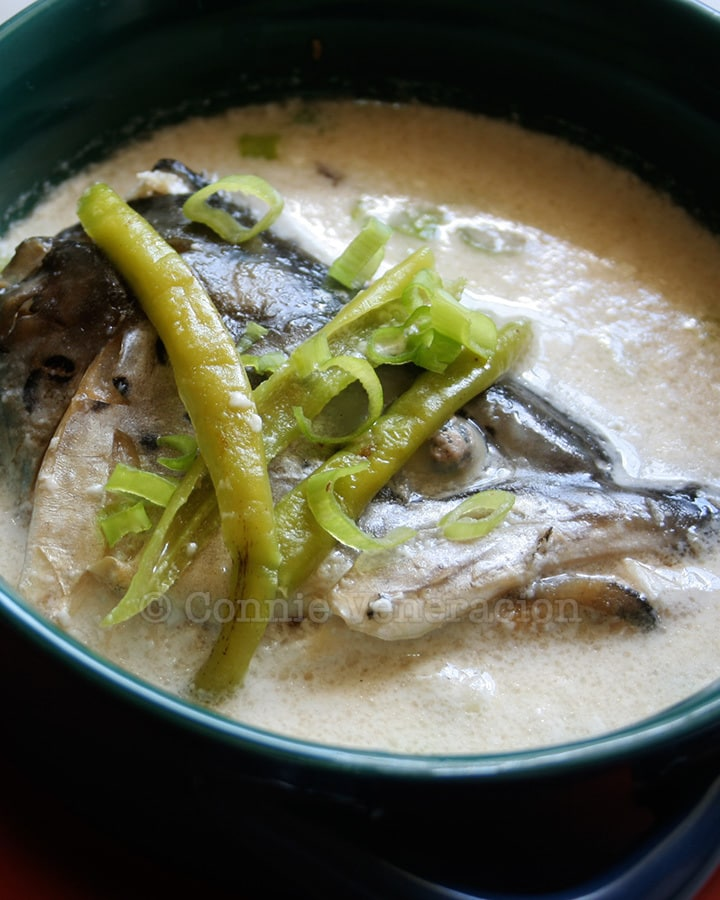 Recipe for Fish Head Soup With Coconut Cream