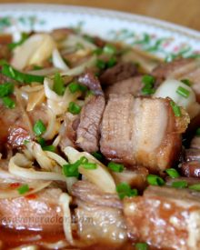 Roast Pork Belly Stir Fry
