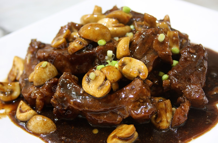 Baby back ribs and mushrooms a la teriyaki | casaveneracion.com