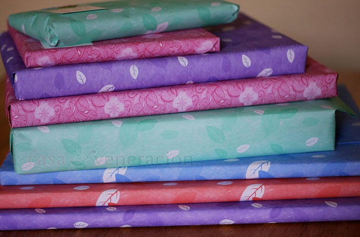 Beautiful inexpensive gift wrappers