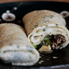 Home To Make Crepe-like Spring Roll Wrappers