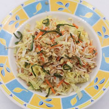 With a light citrusy dressing highlighted by sesame seed oil, Asian coleslaw is a wonderful salad to enjoy on hot and humid summer days!