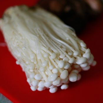 Enoki (golden) mushrooms