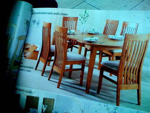 Furniture Design Philippines custom-made hardwood furniture for the living and dining areas