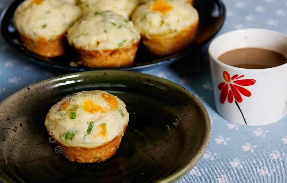 Herb and cheese muffins | casaveneracion.com