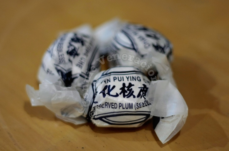 preserved plums from hong kong