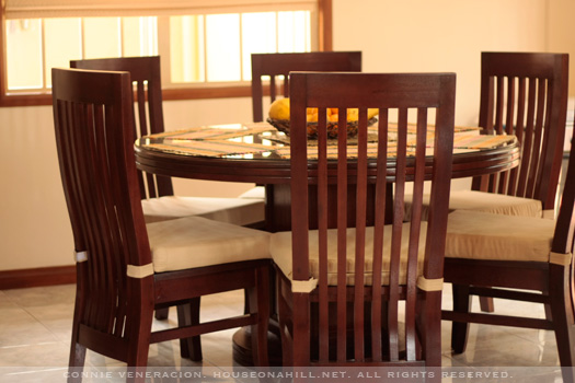 Casaveneracion Custom Made Dining Table And Chairs In Philippine Mahogany