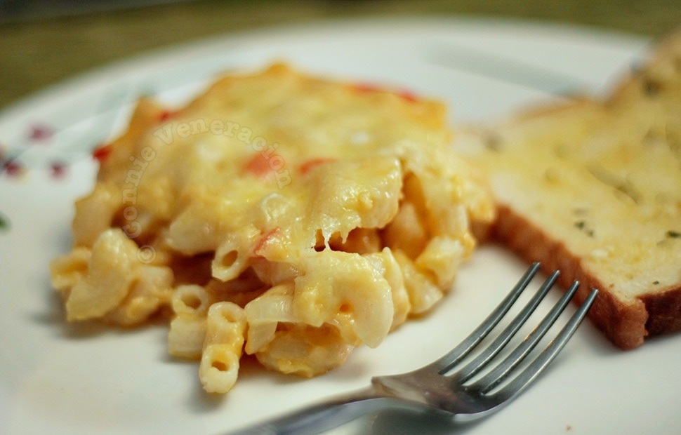 Baked mac and cheese | casaveneracion.com