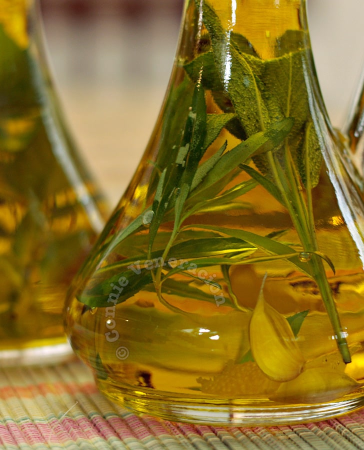 Hot to make herb-infused olive oil