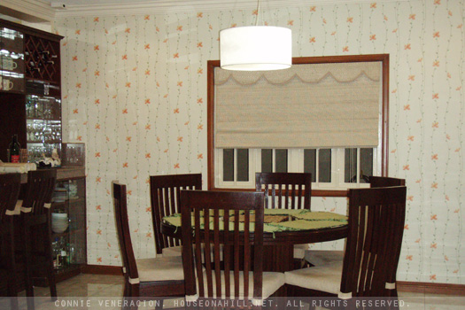 casaveneracion.com Wallpaper for the dining area