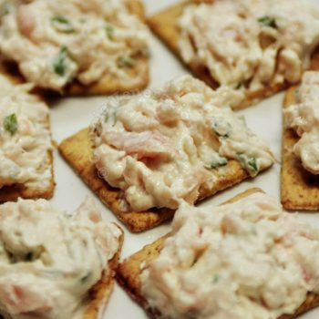 Smoked salmon and cream cheese canap s casa veneracion for Smoked salmon cream cheese canape