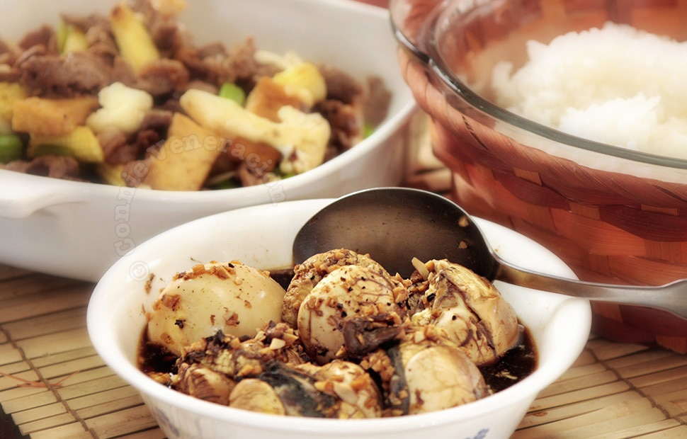 How to cook Adobong balut