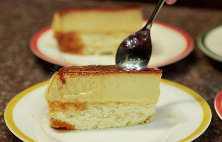 The perfect custard cake